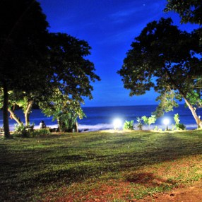 Baan Phu Lae Garden at Night
