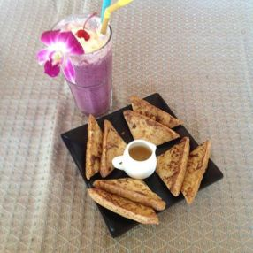 Restaurant snack